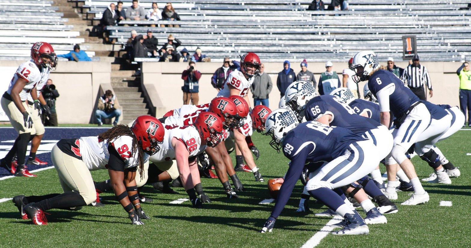 Harvard and Yale football