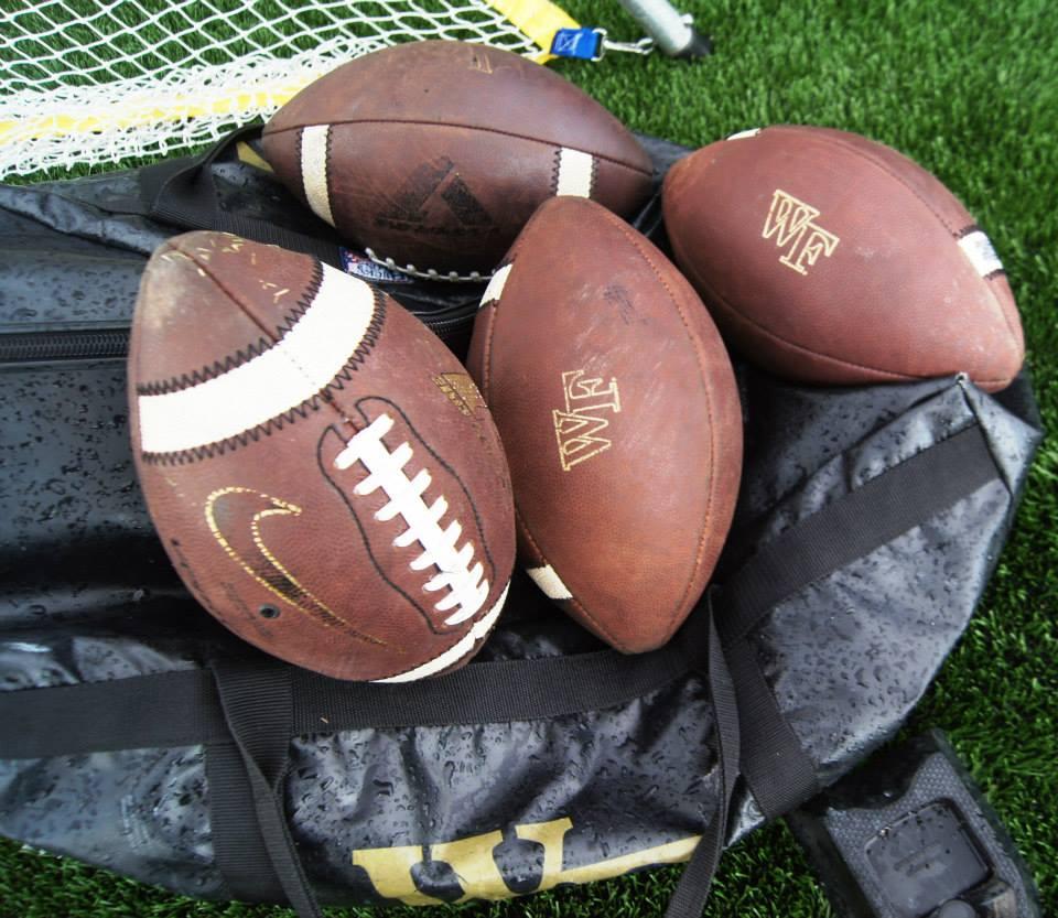 Wake Forest footballs